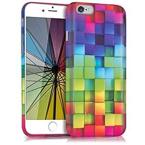 kwmobile Apple iPhone 6/6S Hülle - Handyhülle für Apple iPhone 6/6S - Handy Case in Mehrfarbig Grün Blau