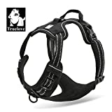 EXPAWLORER Best Front Range No-Pull Dog Harness. 3M Reflective Outdoor Adventure Pet Vest