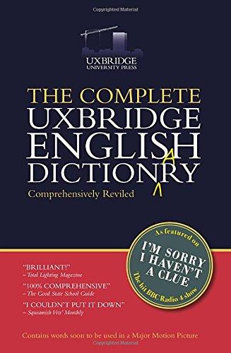 Reading Pdf Ebooks The Complete Uxbridge English Dictionary I M