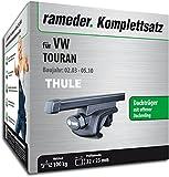 Rameder Komplettsatz, Dachträger SquareBar für VW TOURAN (116010-04954-53)