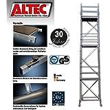 ALTEC Rollfix 900, Arbeitshöhe 9 m neu, inkl. Rollen, Fahrtraverse und Wandanker, TÜV-geprüft