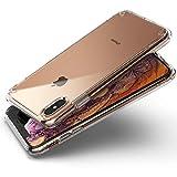 Ringke Coque Compatible avec iPhone XS Max, [Fusion] Transparente Légère Clair PC Back TPU Bumper Étui Anti-Choc Protection [Technologie Anti-Adhérence] pour Apple iPhone XS Max Coque - Clair (Clear)