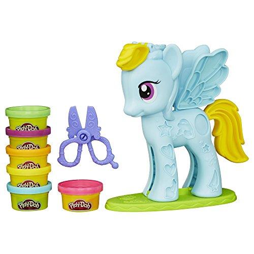 Play-Doh My Little Pony Rainbow Dash Style Salon Spielset (Haar-salon-kunst)