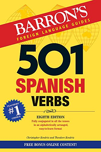 501 Spanish Verbs (501 Verb) (Barron's foreign language verbs)