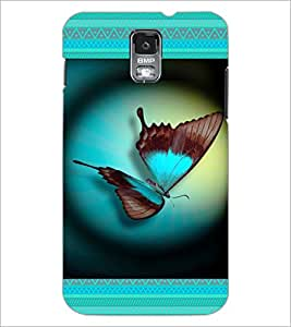 PrintDhaba Butterfly D-6031 Back Case Cover for SAMSUNG GALAXY S5 (Multi-Coloured)
