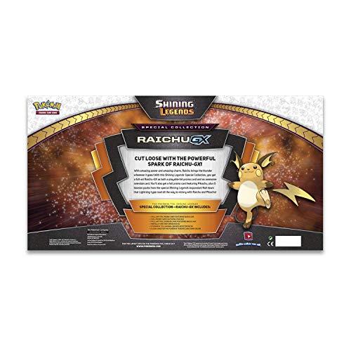 Pokemon TCG: Shining Legends Raichu Gx Special Collection Box