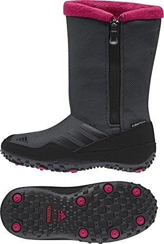 adidas CW Libria Girl CP Kids sharp grey/black/vivid berry Größe 29 2014 (Schnee Stiefel Für Frauen, Ugg)