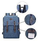 Echofon Canvas Rucksack Laptop-Tasche Computer Tasche Rucksack Daypack Sporttasche Reisetasche Wandern Bag Camping-Tasche -