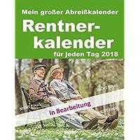 Abreißkalender Rentner 2018