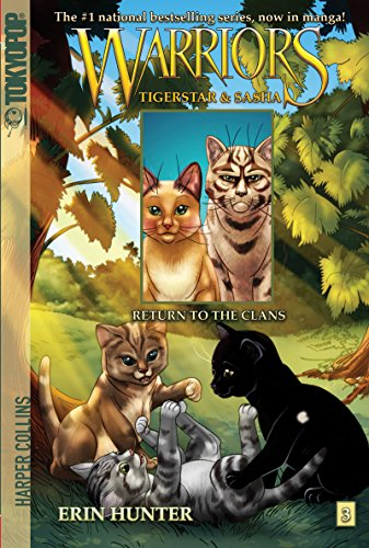 Warriors: Tigerstar and Sasha #3: Return to the Clans (Warriors Manga) (English Edition)