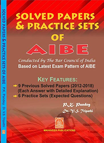 Solved Papers & Practice Sets of AlBE ( All India Bar Examination)