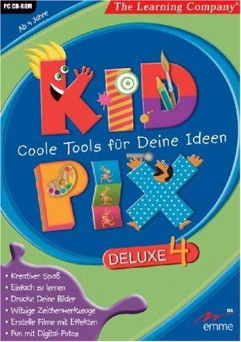 Kid Pix Deluxe 4: Coole Tools für Deine Ideen (Kid Pix)