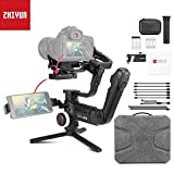 Zhiyun Crane 3 Lab stabilizzatore palmare a 3 assi per fotocamere DSLR, ViaTouch, Wireless 1080P Full HD trasmissione delle immagini, supporto zoom e messa a fuoco simultaneamente