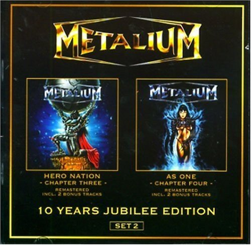 10 Years Jubilee Edition - Set 2 (Hero Nation: Chapter Three and As One: Chapter Four) by METALIUM (2009-04-07)