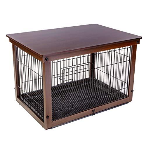 Casetas perros Los cajones perro madera hierro interior