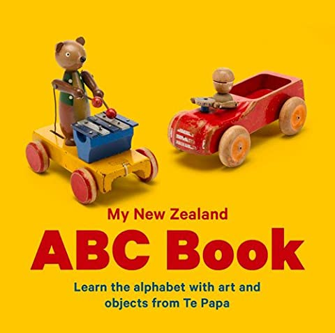 New Zealand ABC: Learn the Alphabet with Art and Objects