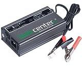 24V 7A geregeltes Batterie-Ladegerät mit IUoU Kennlinie ideal zum Laden von Gel & AGM Batterien mit 7 bis 150Ah Leistung