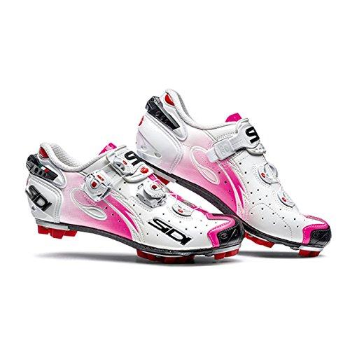 Chaussures VTT DRAKO SRS WOMEN Running Trail Sidi blanc/rose