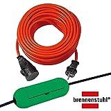 Brennenstuhl Bremaxx Verlängerungskabel IP44 20m rot, 1161760 + SafeBox grün