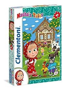 Clementoni 26971-Puzzle 60Masha