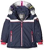 CMP Mädchen Wattierte 7000 Eco Fur Skijacke Jacke, Asphalt, 104