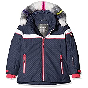 CMP Mädchen Wattierte 7000 Eco Fur Skijacke Jacke