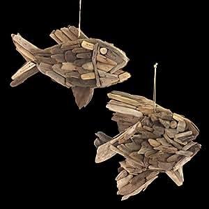 Signes grimalt 2 oggetti decorativi da appendere pesce for Oggetti da appendere