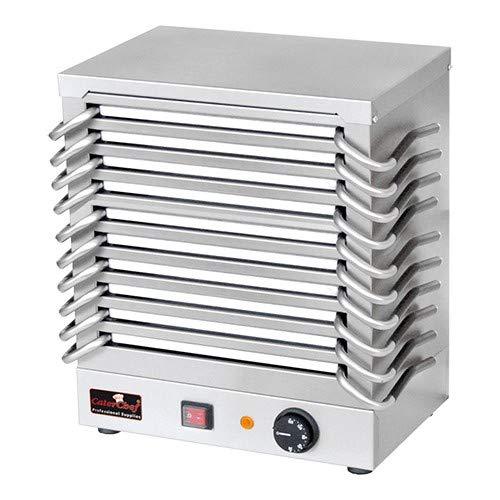 Rechaud mit 10 Warmhalteplatten aus Aluminium Batterie Wärmeplatte Speisenwärmer Warmhalteplatte Aluminium-batterie