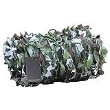 CAIJUN Rete Parasole Fatto su Misura Giungla Profonda Rete Mimetica Protezione Solare Allenamento All'aperto Decorazione, 32 Taglie (Dimensioni : 6x10m)