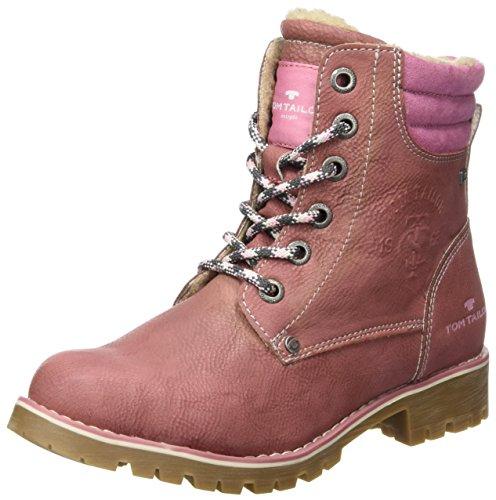 Tom Tailor Mädchen 3770802 Stiefel, Pink (Rose), 39 EU