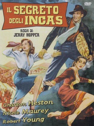 Das Geheimnis der Inkas / The Secret of the Incas (1954) ( ) [ Italienische Import ]