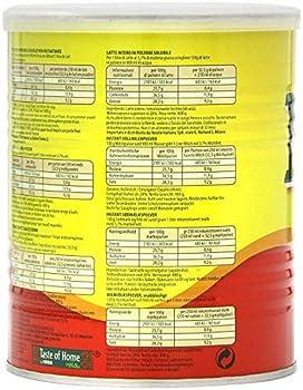 Nestlé Nido Poudre de lait entier - Crème instantanée pour café et thé, enrichie en vitamines et minéraux, sans conservateurs ni colorants - Boîte de 400g