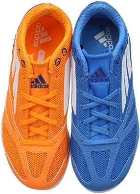 Adidas Unisex - Child Arriba 4 XJ Running Shoes Blue/Orange Size: 6 UK