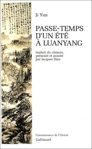 Passe-temps d'un été à Luanyang par Ji Yun
