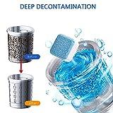 10Pcs Professionelle Waschmaschine Reinigungstablette Tiefenfleckenentferner Waschmaschine Reiniger | Beseitigt unangenehmen Geruch, Spülmaschine Entkalker
