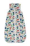 Schlummersack Babyschlafsack für den Sommer aus Bambus-Musselin 0.5 Tog - Autos - Jungen - 6-18 Monate/90 cm
