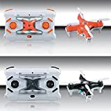 Vortex Toys Mini Drone 2.4G 4Ch 6-Axis Gyro Mini Drone 360 Roll Over With Headless Mode (BLACK)