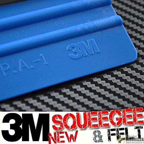 StickersLab PA1 3M-Spachtel für Car-Wrapping und zum Aufkleben von Folien, 3D-, 4D-, 5D-Carbon-Folien, blau