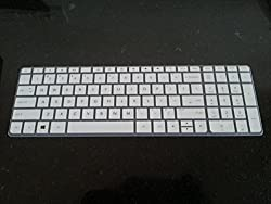 Neon HP Laptop Keyboard Guard White Silicone rubber for HP 15-p206tx, 15-p0018TU, 15-p207tx, 15-p003TX, 15-P073TX, 15-p275tx, 15-p210tx, 15-P001TX, 15-p278tx, 15-p201tx, 15-p201tu, 15-p201tu, 15-p097TX, 15-p097TX