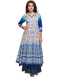 Kashish By Shoppers Stop Womens Printed Kurta Skirt Dupatta Set