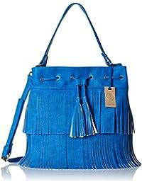 Stella Ricci Women's Shoulder Bag (Blue) (SR183HBLU)
