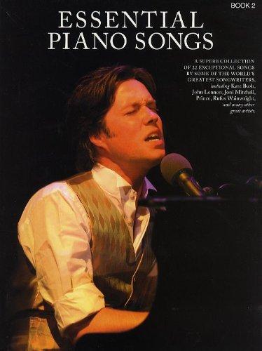 Essential Piano Songs - Book 2. Für Klavier, Gesang & Gitarre