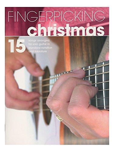 Fingerpicking Christmas. Für Gitarrentabulatur