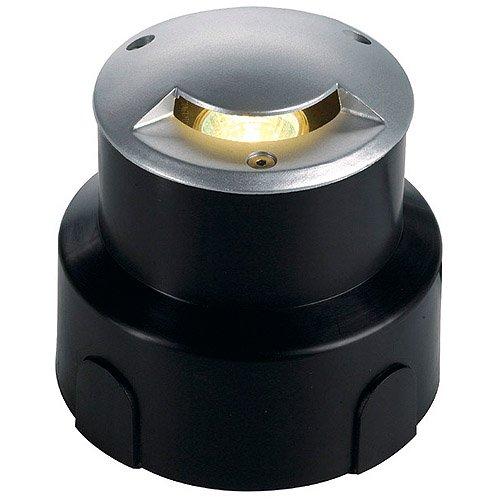 SLV 228301 aquadown Micro encastré Lumière, 1 fente, G4, max, 20 W, IP67, en aluminium, gris argenté,,,