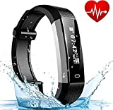 Fitness Armband, ASITA Wasserdicht IP67 Fitness Tracker Smart Watch mit Herzfrequenz Schlafmonitor und Kalorienzähler Aktivitätstracker Armbanduhr, Fitness Uhr für iOS Android Handy