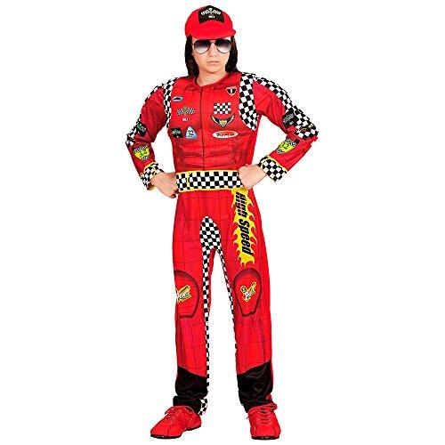 Costume vestito abito travestimento carnevale bambino pilota di formula 1