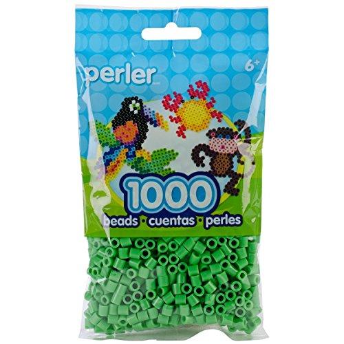 Bulk Buy: Perler Beads 1,000 Count Bright Green