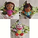 Dora The Explorer 10cm Stuff Soft Toys C...