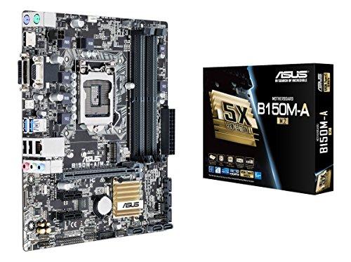 ASUS B150M-A/M 2 - PLACA BASE (ZOCALO LGA1151  DDR4 2133 MHZ  6 X SATA 6 0 GB/S  USB 3 0)