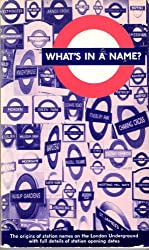 What's in a Name: Origins of Station Names on the London Underground